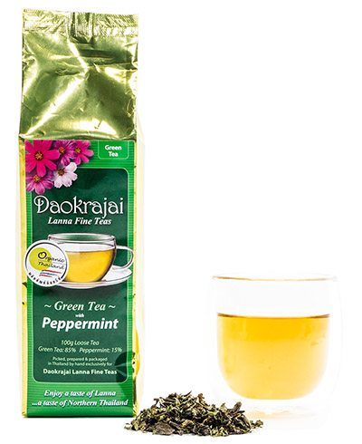 Daokrajai Green Tea Peppermint